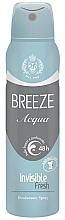 Parfüm, Parfüméria, kozmetikum Dezodor-spray - Breeze Acqua Invisible Fresh Deodorante Spray 48H