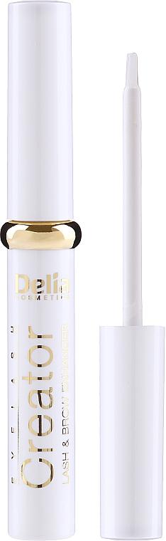 Szemöldök és szempilla növelő szer - Delia Lash & Brow Enhancer Eyelash Creator