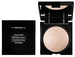 Parfüm, Parfüméria, kozmetikum Arcpúder - Korres Wild Rose Instant Light Illuminaring Power