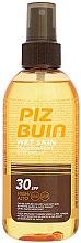 Parfüm, Parfüméria, kozmetikum Védő permet - Piz Buin Wet Skin Transparent Sun Spray SPF30