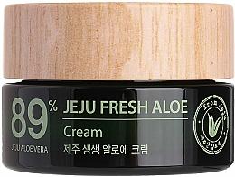 Parfüm, Parfüméria, kozmetikum Hidratáló frissítő krém 89% Aloe vera - The Saem Jeju Fresh Aloe Cream
