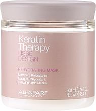 Parfüm, Parfüméria, kozmetikum Hidratáló hajmaszk - Alfaparf Lisse Design Keratin Therapy Rehydrating Mask