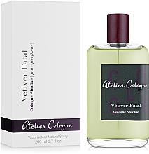 Parfüm, Parfüméria, kozmetikum Atelier Cologne Vetiver Fatal - Kölni