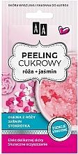 """Parfüm, Parfüméria, kozmetikum Cukros arcpeeling """"Rózsa"""" - AA Sugar Scrub Rose Peeling"""