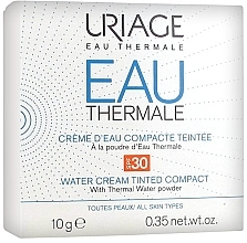 Parfüm, Parfüméria, kozmetikum Kompakt krémpúder - Uriage Eau Thermale Water Tinted Cream Compact SPF30