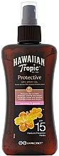 Parfüm, Parfüméria, kozmetikum Száraz barnuló olaj - Hawaiian Tropic Protective Dry Spray Sun Oil SPF 15