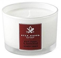 Parfüm, Parfüméria, kozmetikum Acca Kappa Black Pepper & Sandalwood - Illatgyertya