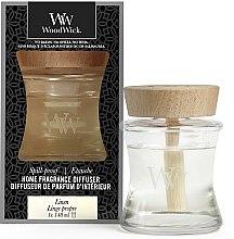 Parfüm, Parfüméria, kozmetikum Aromadiffúzor - Woodwick Home Fragrance Diffuser Linen