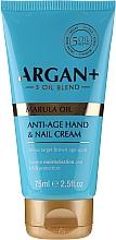 Parfüm, Parfüméria, kozmetikum Kéz- és körömkrém - Argan+ Anti Age Hand & Nail Cream