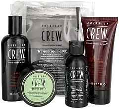 Parfüm, Parfüméria, kozmetikum Szett - American Crew Travel Grooming Kit (gel/100 ml + cr/50 g + sh/gel/100 ml+ sh/cr/50 ml)