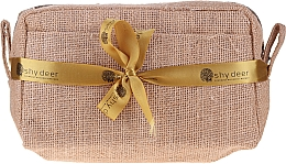 Parfüm, Parfüméria, kozmetikum Szett - Shy Deer Set (f/gel/100ml + intimate/gel/100 + b/milk/200ml + brush + keychain + bag + probe/5ml)