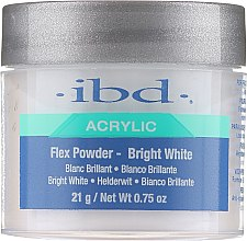 Parfüm, Parfüméria, kozmetikum Porcelánpor, fényes fehér - IBD Flex Powder Bright White