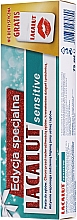 Parfüm, Parfüméria, kozmetikum Szett - Lacalut Sensitive Special Edition Set (t/paste/75ml + dental/floss)