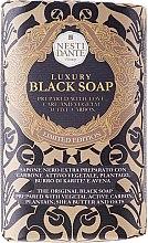 "Parfüm, Parfüméria, kozmetikum Szappan ""Fekete"" - Nesti Dante Luxury Black Soap"