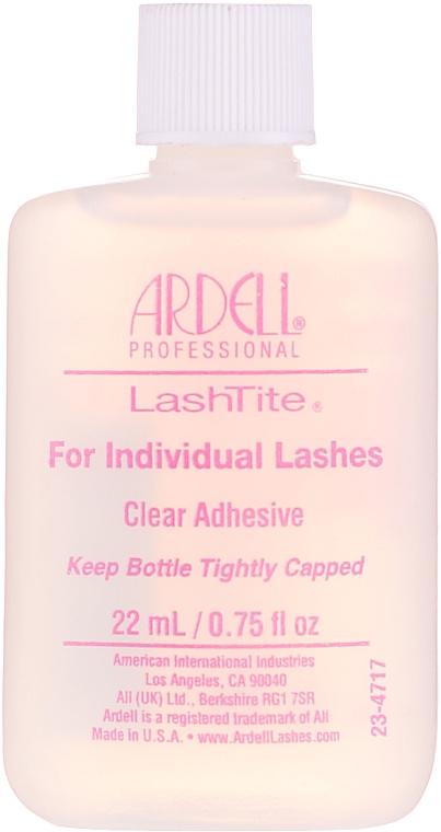Tincses műszempilla ragasztó, átlátszó - Ardell LashTite Adhesive Clear