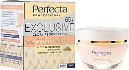 Parfüm, Parfüméria, kozmetikum Lifting krém ráncok ellem - Perfecta Exclusive Face Lifting Cream 65+