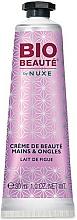 """Parfüm, Parfüméria, kozmetikum Kéz- és körökkrém """"Fügetej"""" - Nuxe Bio Beauty Hands and Nails Cream Fig Milk"""