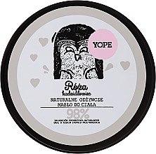 """Parfüm, Parfüméria, kozmetikum Testápoló olaj """"Rózsa és fenyőtömjén"""" - Yope Body Butter"""