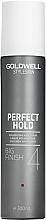 Parfüm, Parfüméria, kozmetikum Spray erős tartás és dús haj - Goldwell Style Sign Perfect Hold Big Finish Volumizing Hairspray
