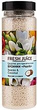 Parfüm, Parfüméria, kozmetikum Fürdőgyöngyök - Fresh Juice Bath Bijou Rearls Freesia and Coconut