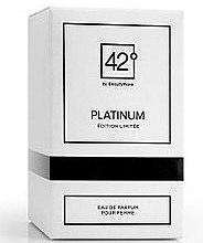 Parfüm, Parfüméria, kozmetikum 42° by Beauty More Platinum Edition Limitee Pour Femme - Eau De Parfum