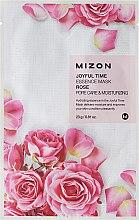 Parfüm, Parfüméria, kozmetikum Szövetmaszk rózsa kivonattal - Mizon Joyful Time Essence Mask Rose