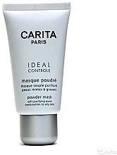 Parfüm, Parfüméria, kozmetikum Mattító arcmaszk kombinált és száraz bőrre - Carita Ideal Controle Powder Mask