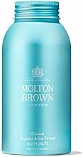 Parfüm, Parfüméria, kozmetikum Molton Brown Coastal Cypress & Sea Fennel Bath Salts - Fürdősó