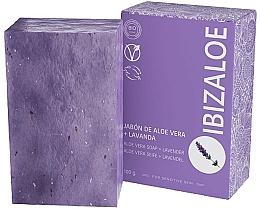 Parfüm, Parfüméria, kozmetikum Levendula szappan - Ibizaloe Aloe Vera Soap Lavender