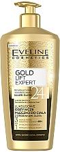 Parfüm, Parfüméria, kozmetikum Tápláló testápoló aranyszemcsékkel - Eveline Cosmetics Gold Lift Expert 24K