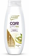 """Parfüm, Parfüméria, kozmetikum Tusfürdő """"Makadámia"""" - Luksja Care Pro Oils Creamy Shower Gel"""