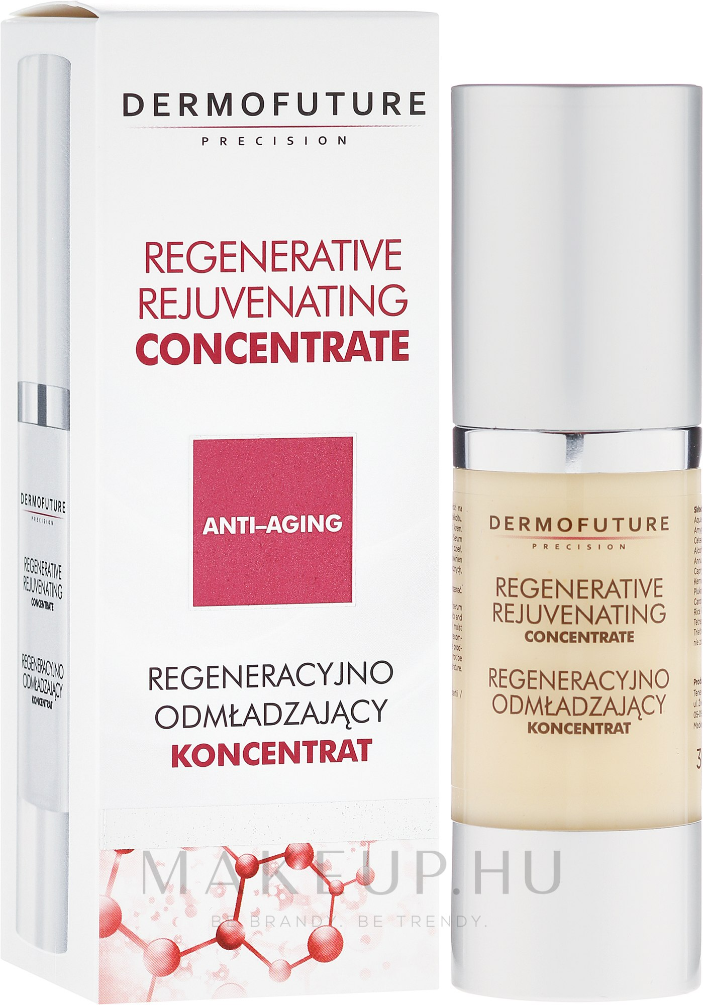 Regeneráló fiatalító koncentrátum retinollal - DermoFuture Regenerative Rejuvenating Concentrate — fotó 30 ml