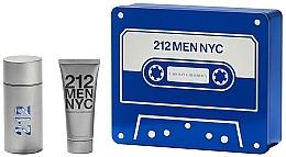 Parfüm, Parfüméria, kozmetikum Carolina Herrera 212 Men NYC - Szett (edt/100ml + sh/gel/100ml)