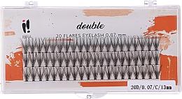 Parfüm, Parfüméria, kozmetikum Műszempilla tincsek, C 13 mm - Ibra 20 Flares Eyelash Knot-fre Naturals