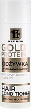 Parfüm, Parfüméria, kozmetikum Kondicionáló festett hajra - Hegron Gold Protein Hair Conditioner