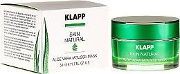 """Parfüm, Parfüméria, kozmetikum Nyugtató maszk """"Aloe vera"""" - Klapp Skin Natural Aloe Vera Mousse Mask"""