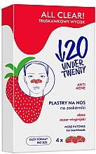 Parfüm, Parfüméria, kozmetikum Pórustisztító orrtapasz - Under Twenty Anti! Acne All Clear! Nose Strip