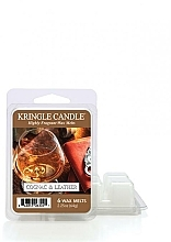 Parfüm, Parfüméria, kozmetikum Aromawax - Kringle Candle Cognac & Leather Wax Melt