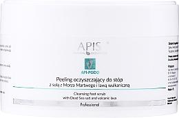 Parfüm, Parfüméria, kozmetikum Tisztító lábpeeling - Apis Professional Api-Podo