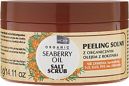 Parfüm, Parfüméria, kozmetikum Testpeeling sóval - GlySkinCare Organic Seaberry Oil Salt Scrub