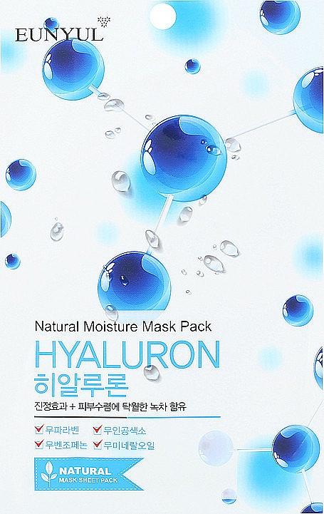 Szövetmaszk hialuronsavval - Eunyul Natural Moisture Hyaluron Mask Pack