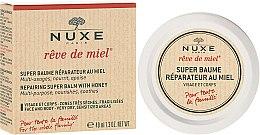 Parfüm, Parfüméria, kozmetikum Helyreálító arc- és testbalzsam méz kivonattal - Nuxe Rêve de Miel Repairing Super Balm With Honey