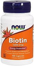 Parfüm, Parfüméria, kozmetikum Étrend-kiegészítő, 1000 mcg, - Now Foods Biotin
