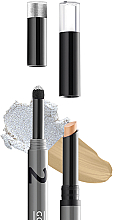 Parfüm, Parfüméria, kozmetikum Kollagén highlighter stift szemhéjra  - Gokos Cover&Glow