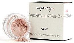 Parfüm, Parfüméria, kozmetikum Natúr szemhéjfesték borostyánnal - Uoga Uoga Natural Eye Shadow With Amber
