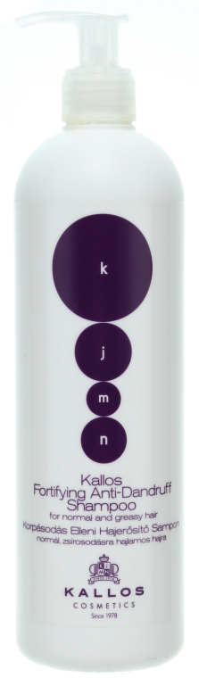 Korpásodás elleni sampon - Kallos Cosmetics Fortifying Anti-dandruff Shampoo