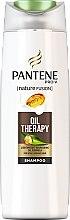 "Parfüm, Parfüméria, kozmetikum Sampon ""Oil Therapy"" - Pantene Pro-V Nature Fusion Oil Therapy Shampoo"