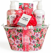 Parfüm, Parfüméria, kozmetikum Szett - IDC Institute Royal Garden (sh/g/250ml+b/lot/250ml+salt/100g+sponge)