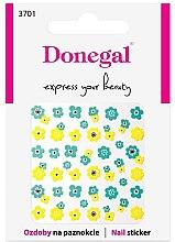 Parfüm, Parfüméria, kozmetikum Körömdíszítő matricák, 3701 - Donegal