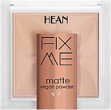 Parfüm, Parfüméria, kozmetikum Sminkfixáló púder félig áttetsző fedéssel - Hean Fix Me Matte Vegan Powder